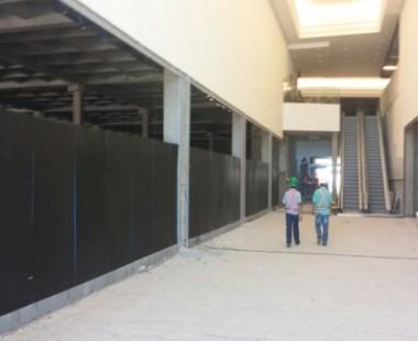 Implantação completa de uma loja de material de construção da rede C&C, no novo Shopping Passeio das Águas em Goiânia